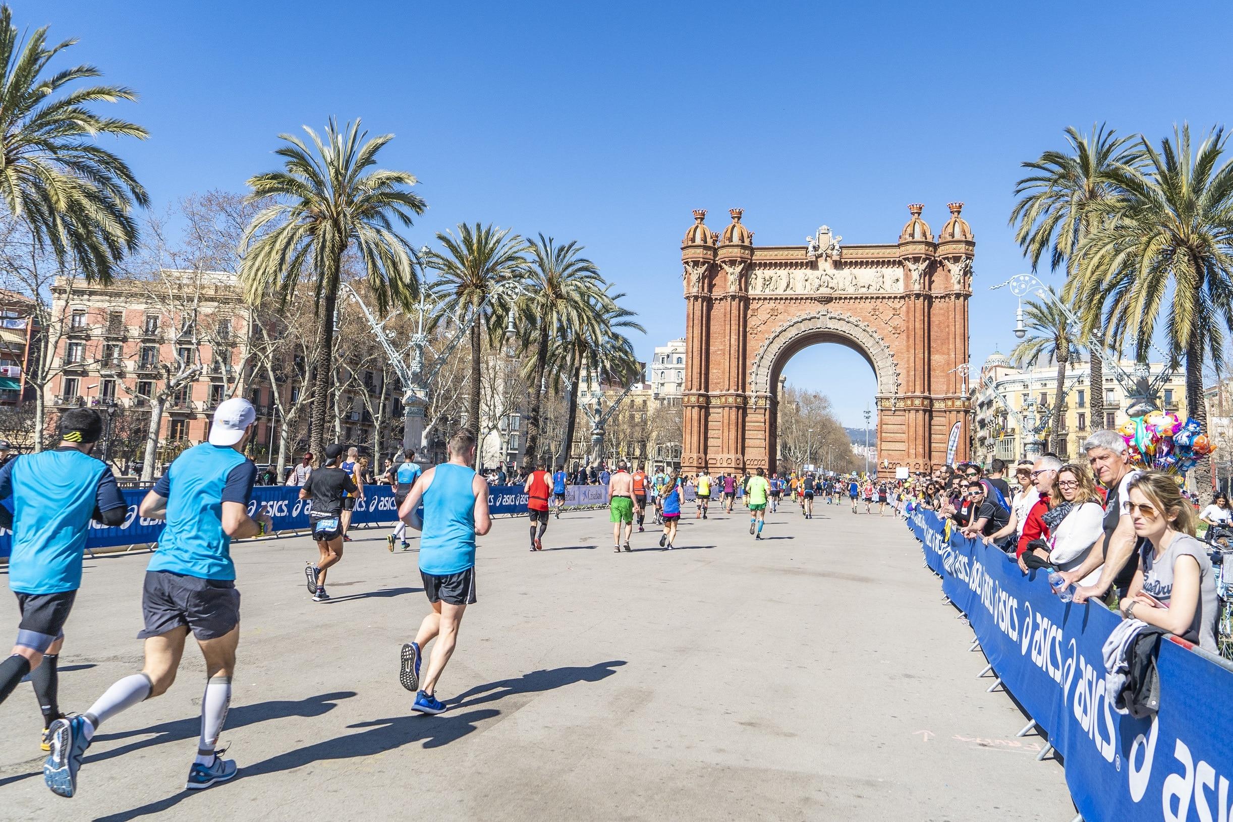 arc triomf Zurich Marato Barcelona