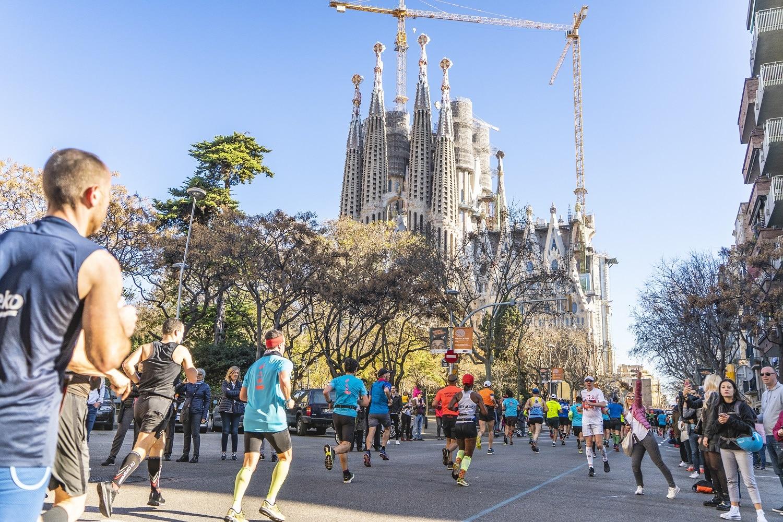 sagrada familia Zurich Marato Barcelona